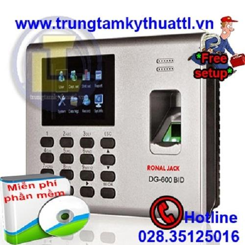 Cửa Hàng Bán May Chấm Cong Van Tay Va Thẻ Cảm Ứng Ronald Jack Dg 600Bid