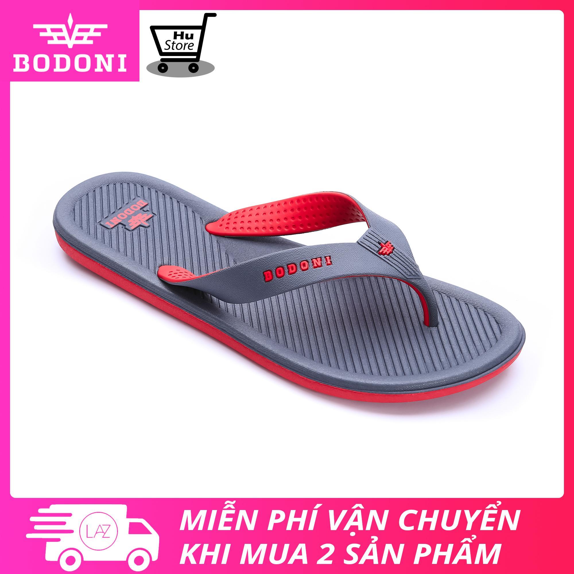 Dép lào thời trang nam thương hiệu Bodoni sản xuất tại Việt Nam (Nhiều màu lựa chọn)