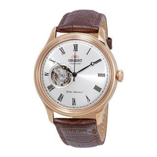 Đồng hồ automatic nam dây da Orient Caballero FAG00001S0 (Rose gold) vỏ thép không gỉ, dây da, kính khoáng cứng, chống nước 50m, lịch hiển thị ngày, thứ thumbnail