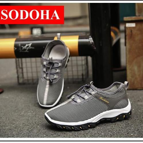 Hình ảnh Giày Thể thao Nam Sodoha SSN323686 Gray