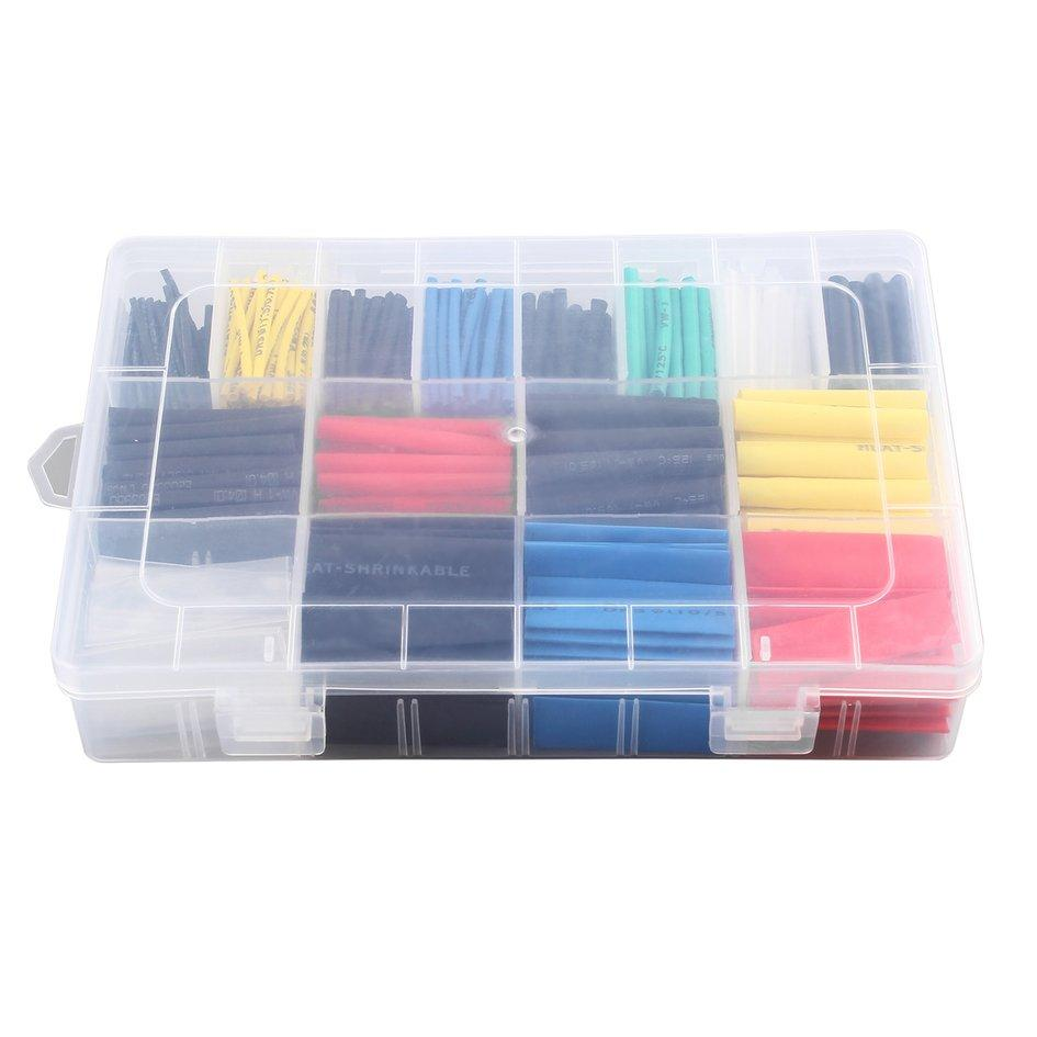 OH Polyolefin Heat Shrink Tube Ratio: 2:1 Cable Insulated Shrinkable Tube Red/Yellow/Green/Black/Blue/Cl