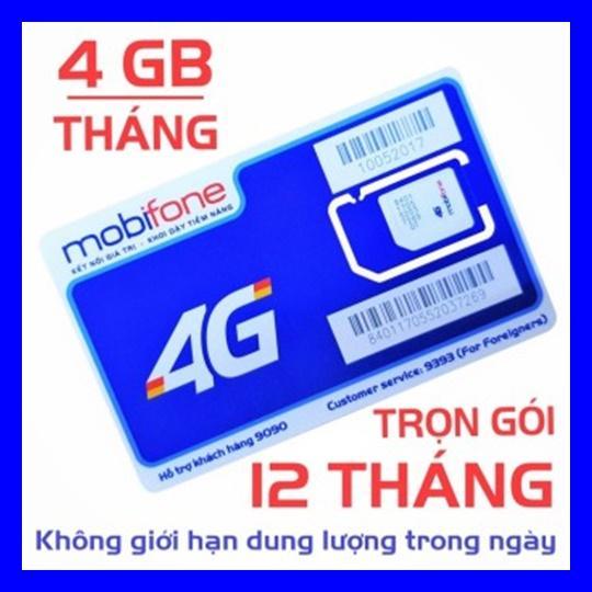 Hình ảnh SIM 4G MOBI MDT250A TRỌN GÓI 1 NĂM KHÔNG NẠP TIỀN ( 4GB X 12 THÁNG) - SHOP SIM GIÁ RẺ - SIM 3G, 4G CÁC LOẠI