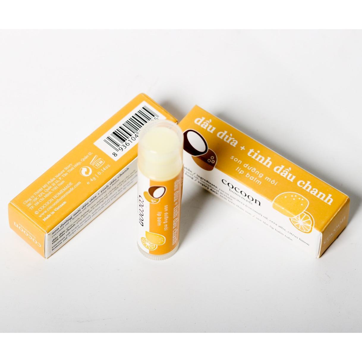 Son dưỡng môi Cocoon - Lip care 5g