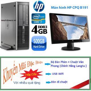 [Trả góp 0%]Bộ Máy tính đồng bộ HP Elite 8200 ( core i7 2600 8G 500G ) Màn hình HP 19.5 inch Wide - LED Tặng Bộ Bàn phím USB Wifi Bàn di chuột - Bảo hành 24 tháng thumbnail