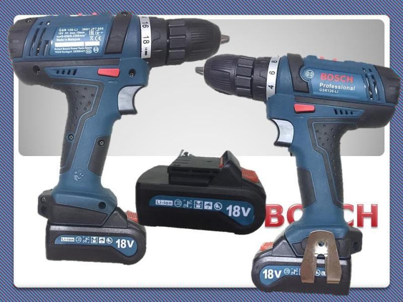 Máy Khoan Pin - Máy Khoan Pin Bosch 18v
