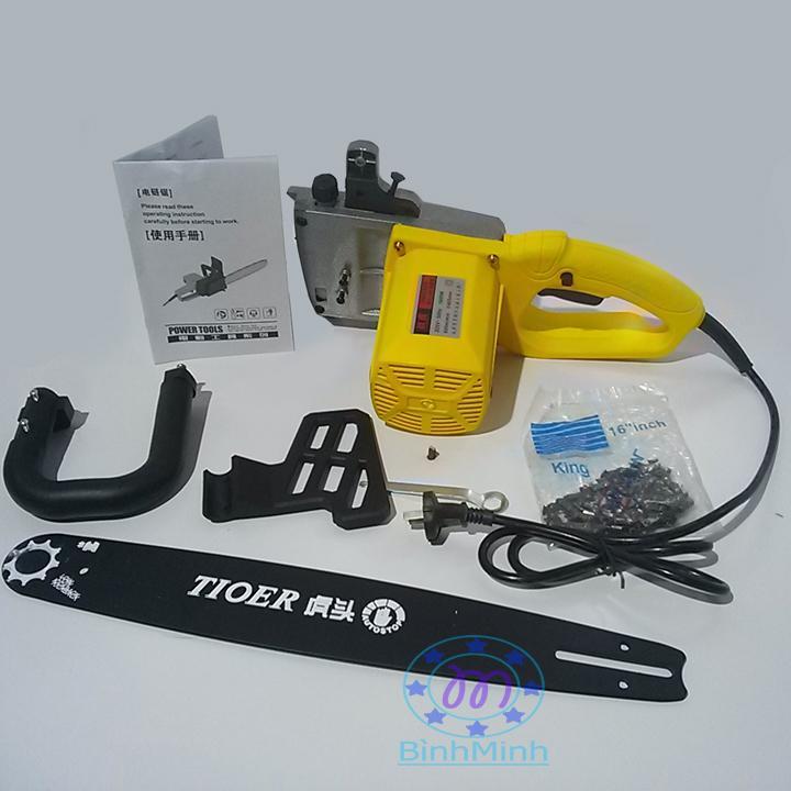 máy cưa xích điện 220V - chain saw 1800W M1L405