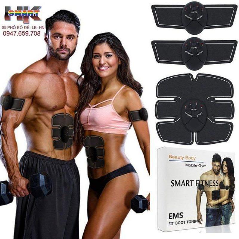 Bộ 3 dụng cụ luyện tập cơ bắp 6 múi EMS Smart Fitness ( THIẾU SẢN PHẨM ,KHÔNG NHƯ HÌNH HOÀN TIỀN 100%)