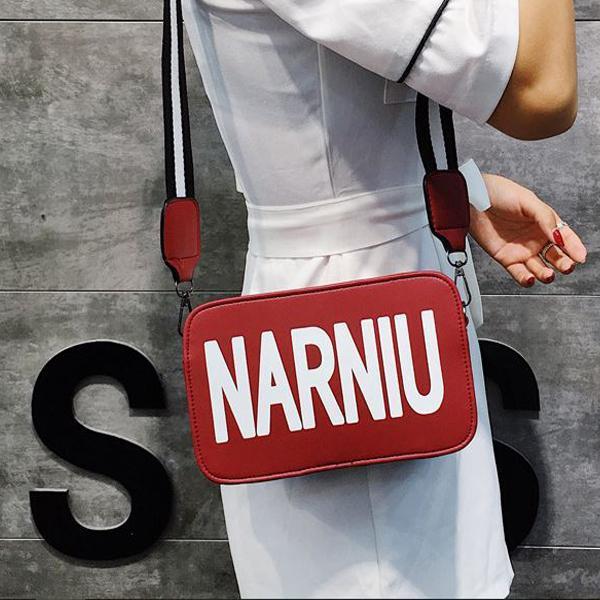 Túi đeo vai nữ thời trang cá tính dây đeo sành điệu NARNIU