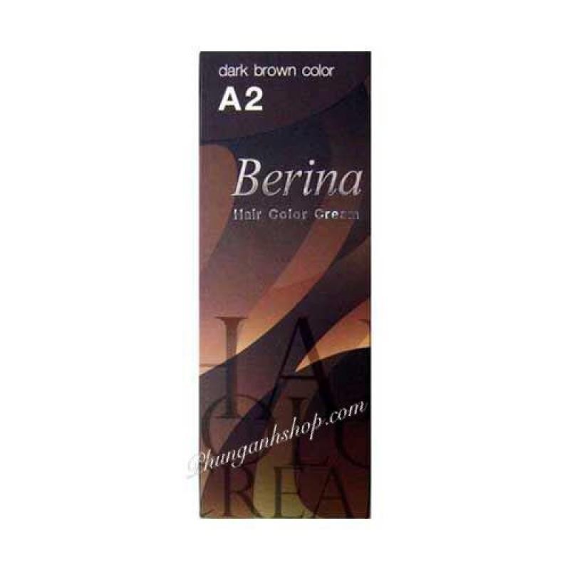 Nhuộm Berina hailr color cream A2_ NÂU nhập khẩu