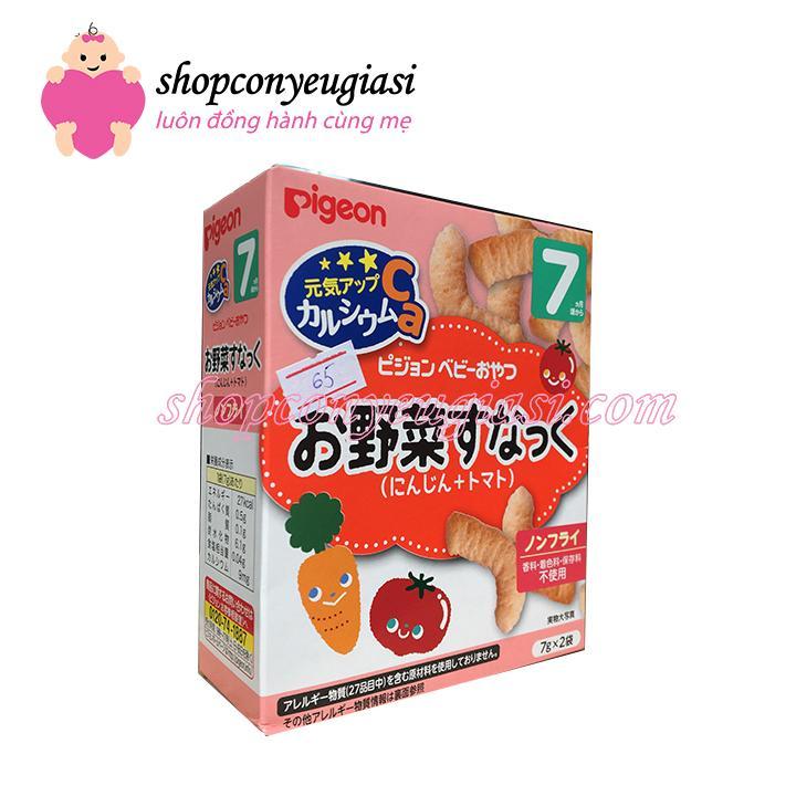 Bánh Pigeon vị cà rốt, cà chua 7M+