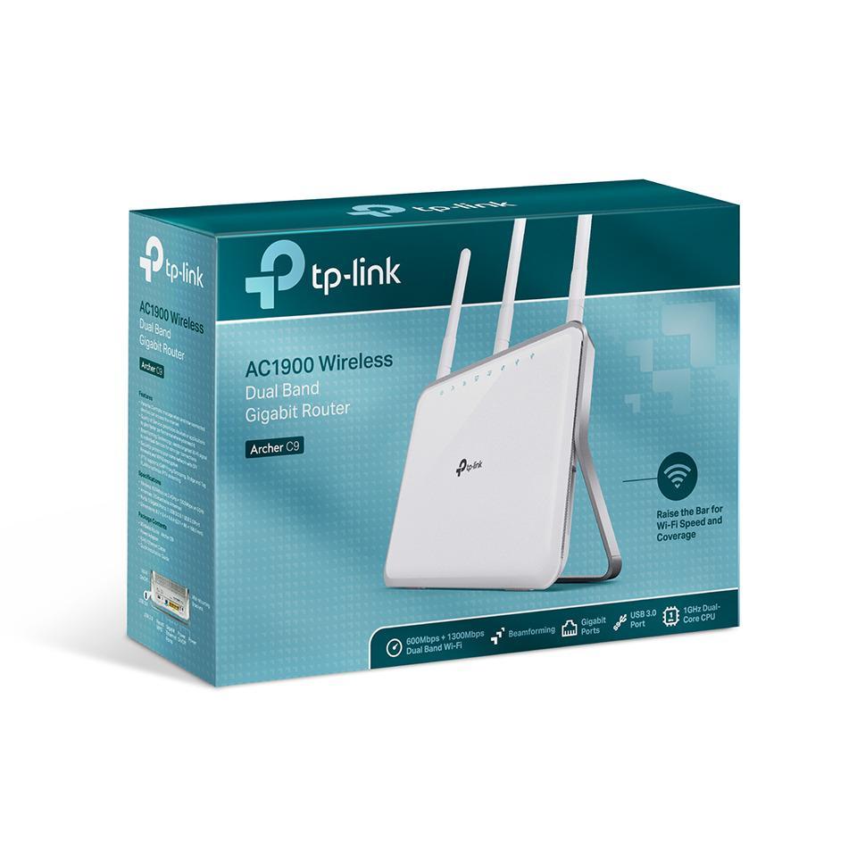 Giá Router Gigabit Wi-Fi Băng tần kép AC1900 Archer C9