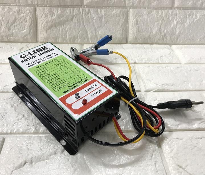 Sạc ắc quy tự động G-LINK Power GL24V-200Ah