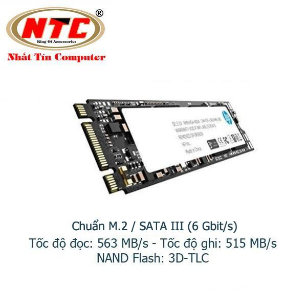 Ổ Cứng SSD M2 HP S700 250GB chuẩn giao tiếp SATA III - Box Anh (đen)