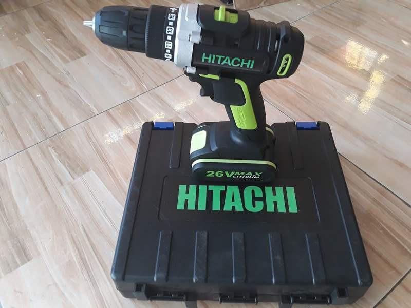 khoan pin 26v Hitachi