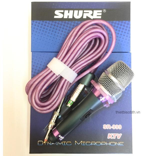 Bán Micro Karaoke Co Day Shure Ktv Sr 999 No Band
