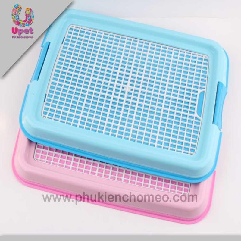 HCM-SP1025 - Khay vệ sinh chữ nhật dẹt ( 4711546) khay vệ sinh chó mèo cải tiến-HP10850TC