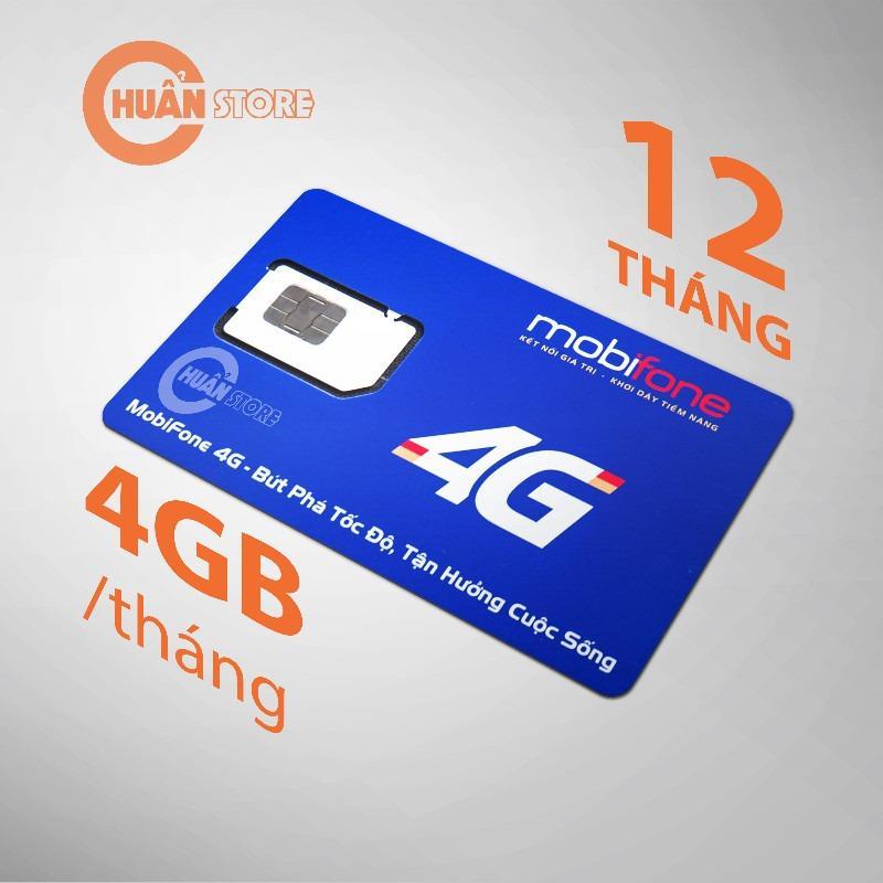 Mua Sim 4G Mobifone Trọn Goi 1 Năm Khong Nạp Tiền 4Gb X 12 Thang Trực Tuyến Hà Nội