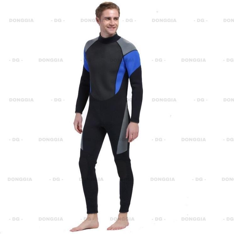 Bộ đồ lặn, quần áo lặn biển 3mm NAM 1026 giữ ấm, thoáng khí, chống thầm nước cao cấp - DONGGIA Nhật Bản