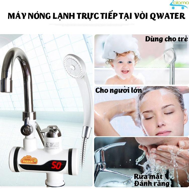 Giá Máy làm nóng nước trực tiếp tại vòi QWater RX-04 gắn tường tiện lợi