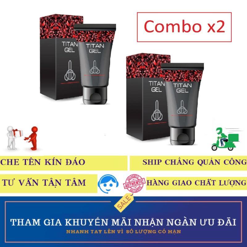 Combo x2 hộp gel Sản phẩm Titan-Nga cao cấp (50ml) nhập khẩu