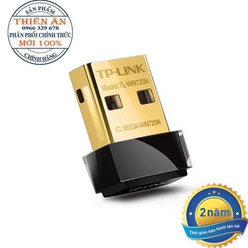 Bộ chuyển đổi USB TP-Link WN725N Nano chuẩn N không dây tốc đô150Mbps