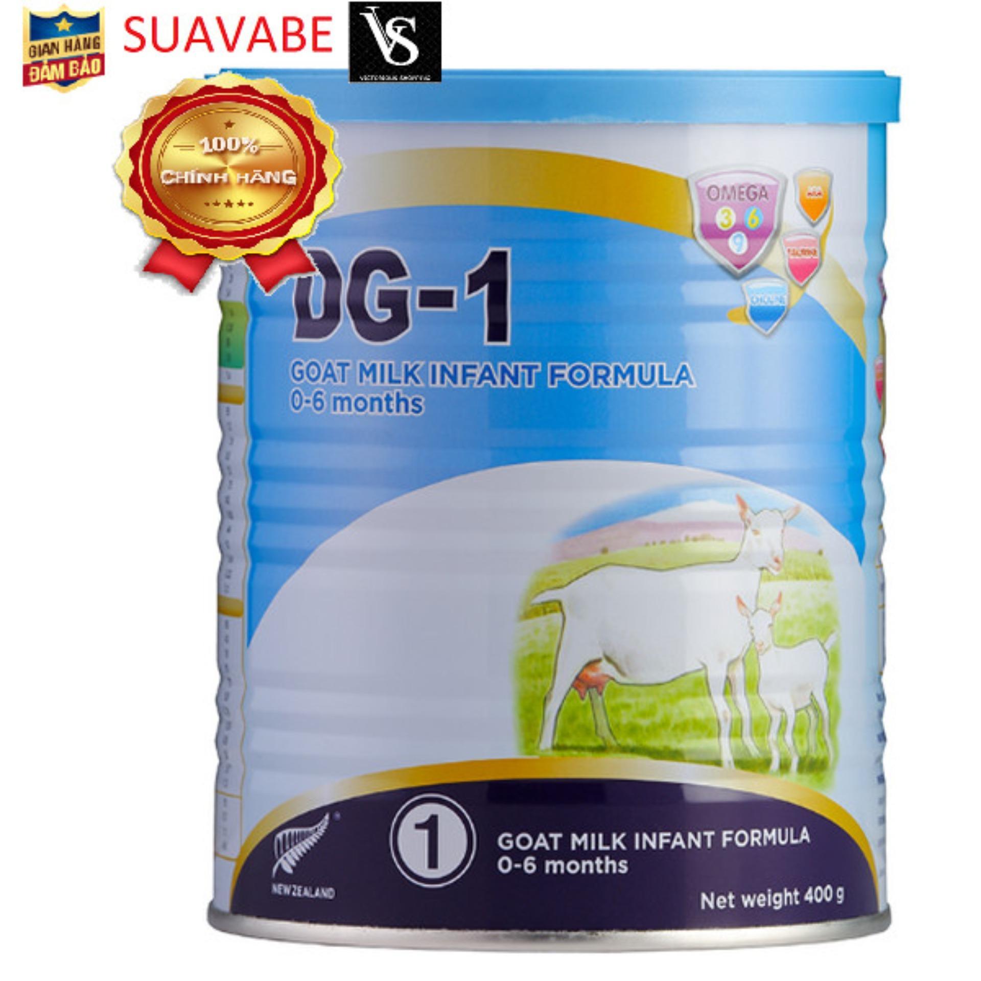 Sữa Dê DG 1 (400g) Cùng Giá Khuyến Mãi Hot