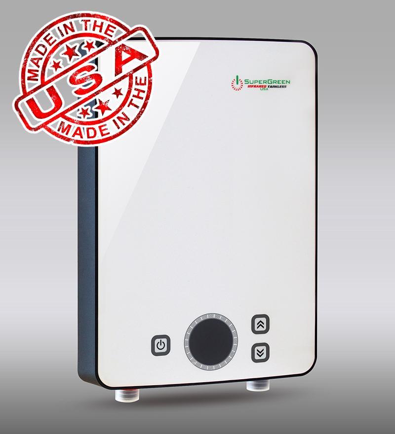 Hình ảnh Máy tắm nước nóng hồng ngoại SuperGreen IR-234 (Trắng) nhập khẩu USA