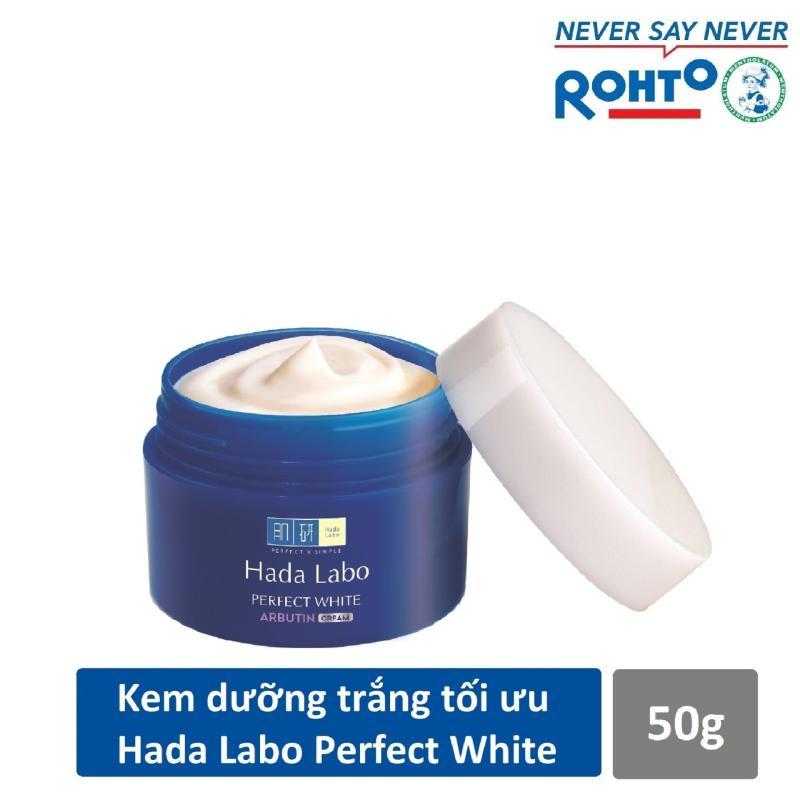 Kem dưỡng trắng da tối ưu Hada Labo Perfect White Cream 50g nhập khẩu