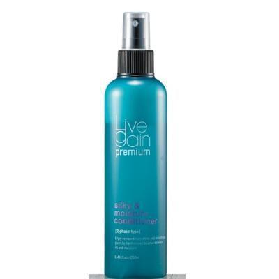 Xịt dưỡng tóc khô hư tổn Livegain Silky & Moisture - 250ml Nhật Bản