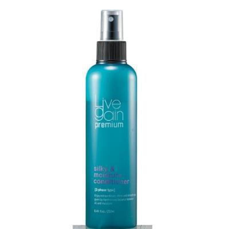 Xịt dưỡng tóc khô hư tổn Livegain Silky & Moisture - 250ml cao cấp