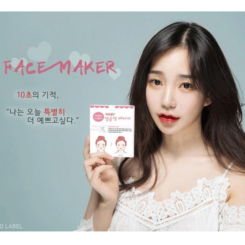 Hộp 40 miếng Vline DoDo Label thon gọn khuôn mặt Hàn Quốc