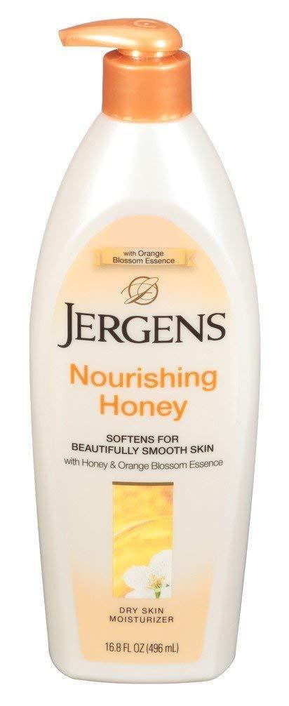Dưỡng Thể Cho Da Khô chiết xuất mật ong Jergens Nourishing Honey Dry Skin Moisturizer 496ml (Mỹ)