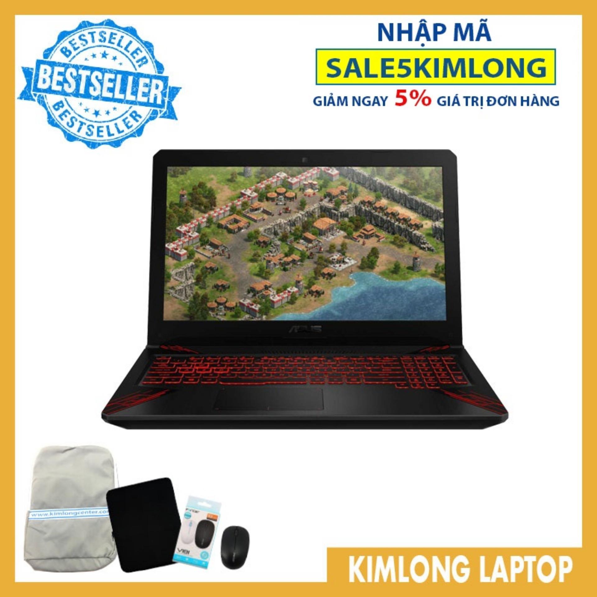 Bảng giá Laptop Asus TUF Gaming FX504GE-E4059T i7-8750H 8GB DDR4 1TB