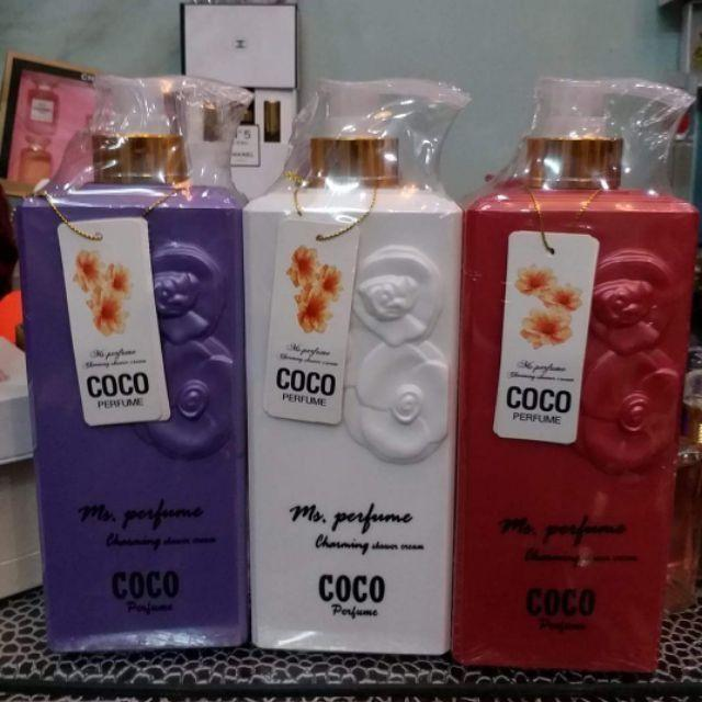 Sữa tắm Coco 800ml nhập khẩu