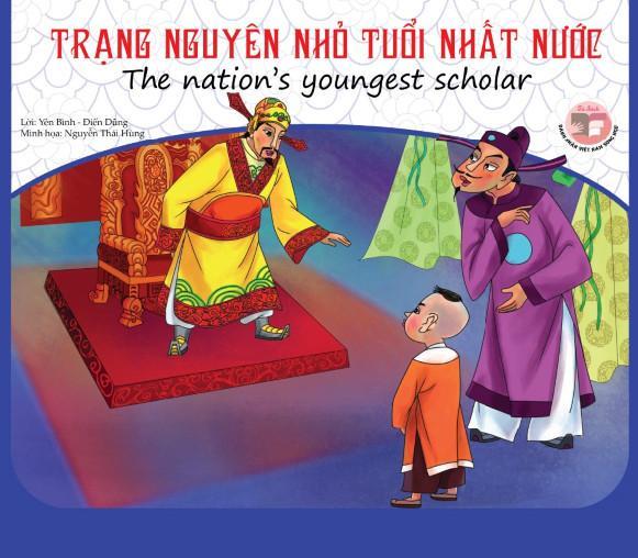 Sách song ngữ Doanh nhân Việt Nam - Trạng nguyên nhỏ tuổi nhất nước