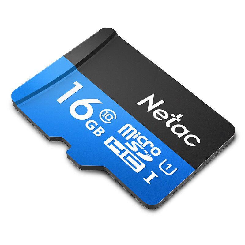 Thẻ nhớ Netac 16Gb class 10 tốc độ 80Mb dùng tốt cho Camera IP