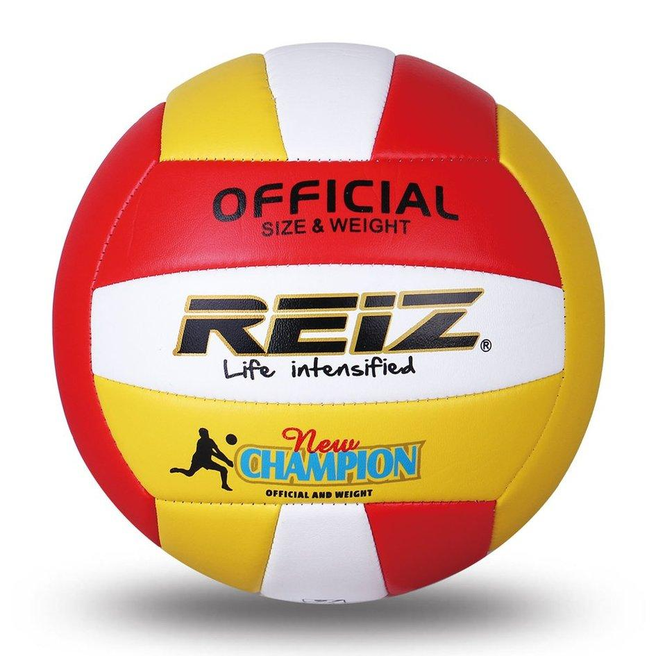 REIZ PU Volleyball Professional Soft Volleyball Indoor & Outdoor Training Ball