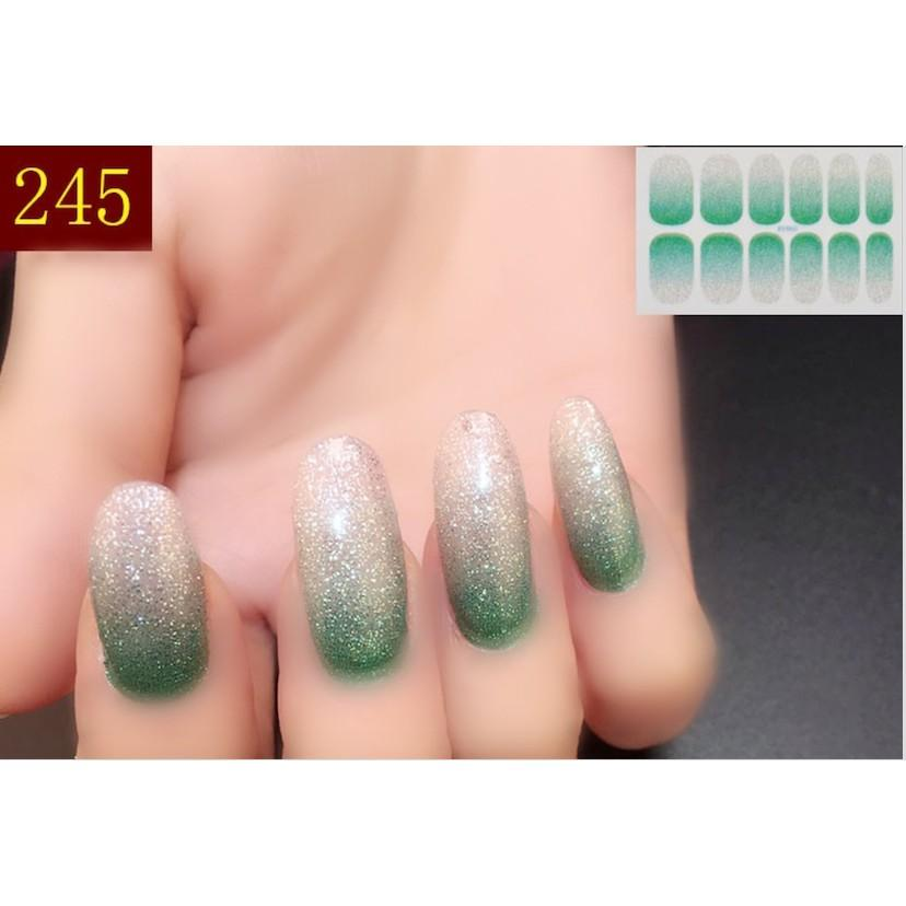 nail art sticker dán móng tay N15 (quà tặng 1 giũa và 2 khăn khô vô trùng) tốt nhất