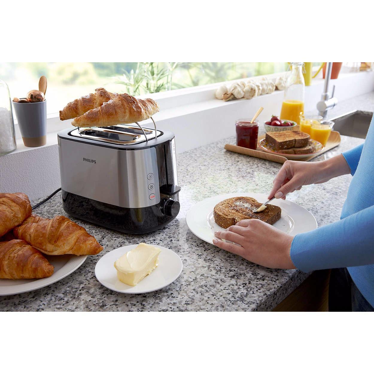 Hình ảnh Máy nướng bánh mì Philips HD2637 (1000W)-Hàng chính hãng