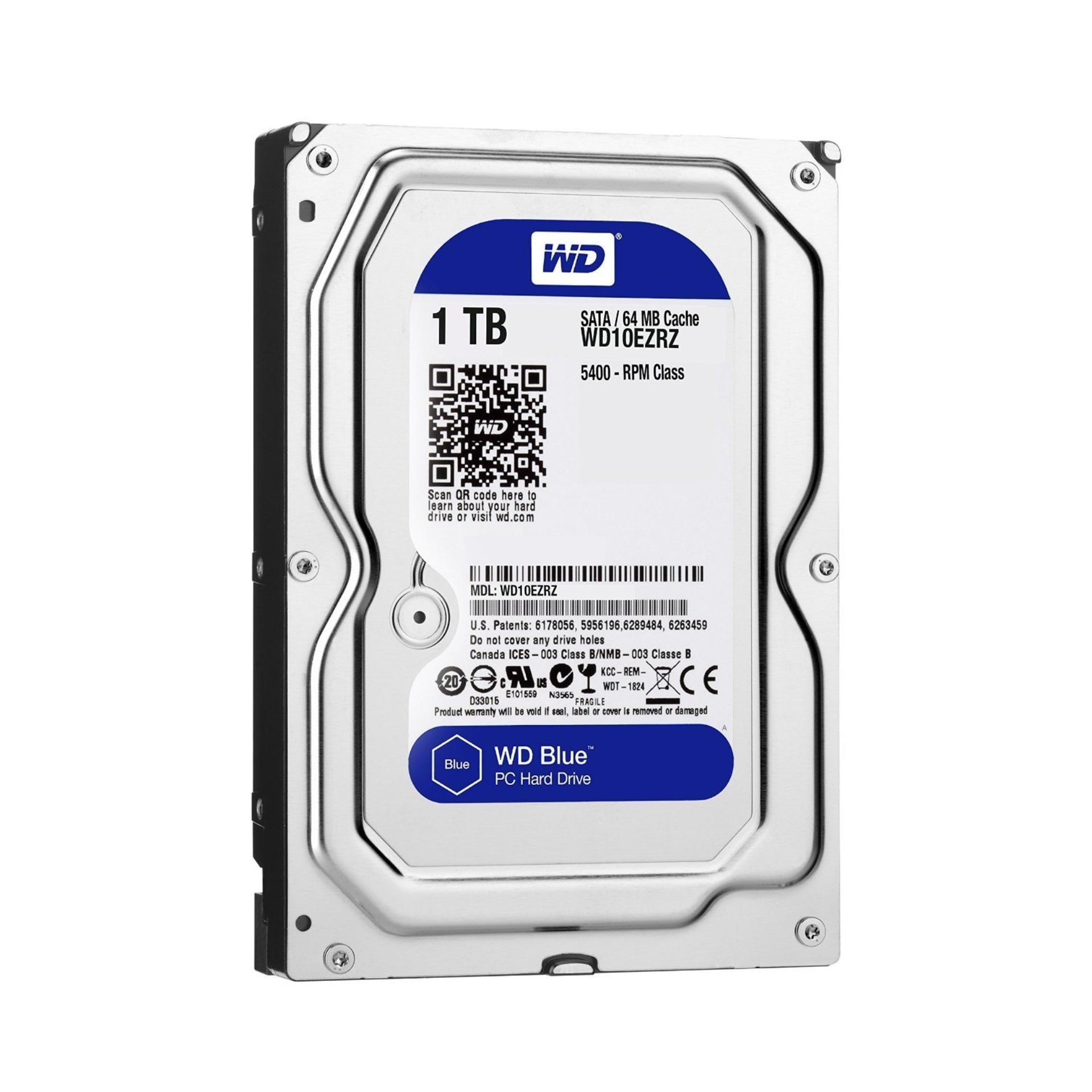 """Ổ cứng HDD WD Blue 2,5"""" 1TB - BH 24T Hàng nhập khẩu"""