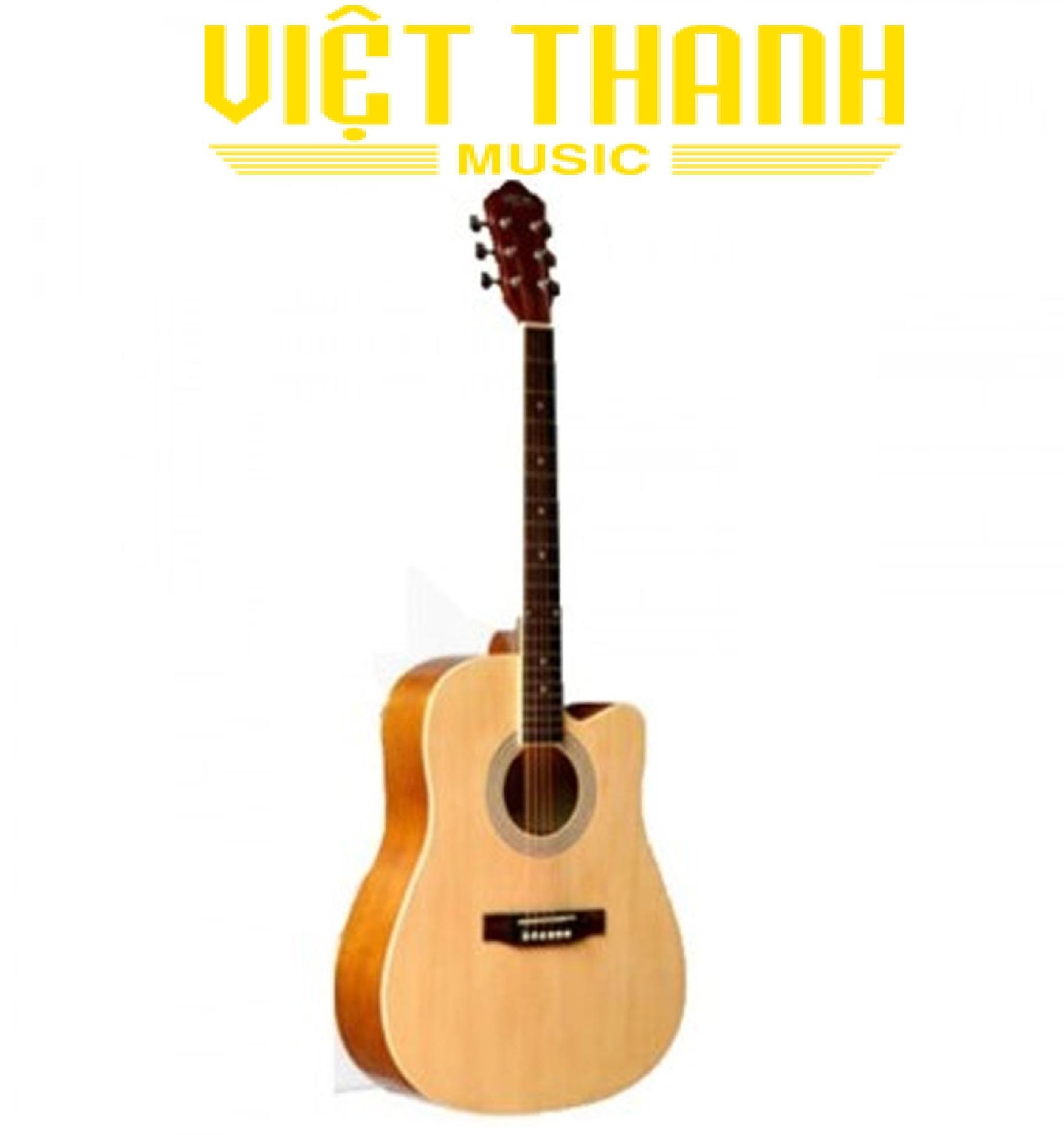 Đàn Guitar Acoustic Caravan HS4140 Dây Sắt Dành Cho Người Mới Tập Chơi - Sinh Viên