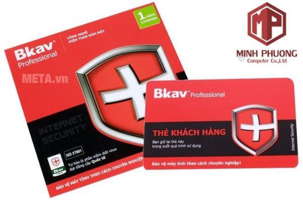 Giá Phần mềm diệt virus BKAV PRO  Combo 5 bản chính hãng - giá tốt