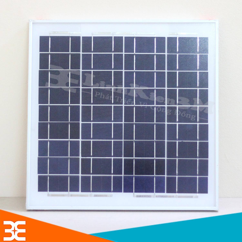 Tấm Pin Năng Lượng Mặt Trời 18V 20W 36x36x1.7cm (Khung Nhôm)