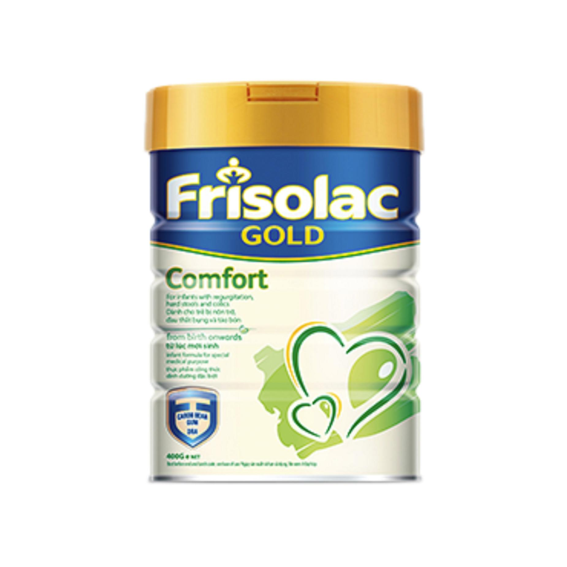 Sữa bột Friso Frisolac Gold Comfort 400g (HSD 4/2019)