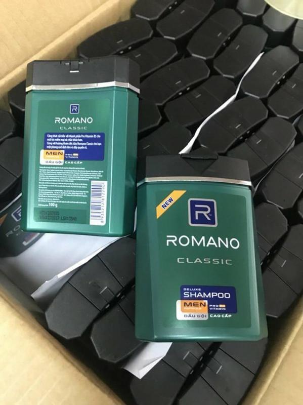 Combo 2 chai Dầu Gội Cao Cấp Cho Nam Romano Classic 100g  (hàng tặng) giá rẻ