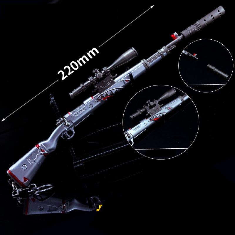 Hình ảnh Mô hình Trưng bày Trang Trí - PUBG K98 SHARK BITE 22cm