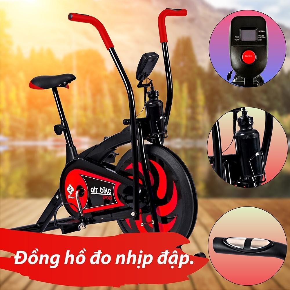 Voucher Khuyến Mãi BG - Xe đạp Tập Thể Dục Air Bike Thiết Kế Hoàn Toàn Mới (Red)