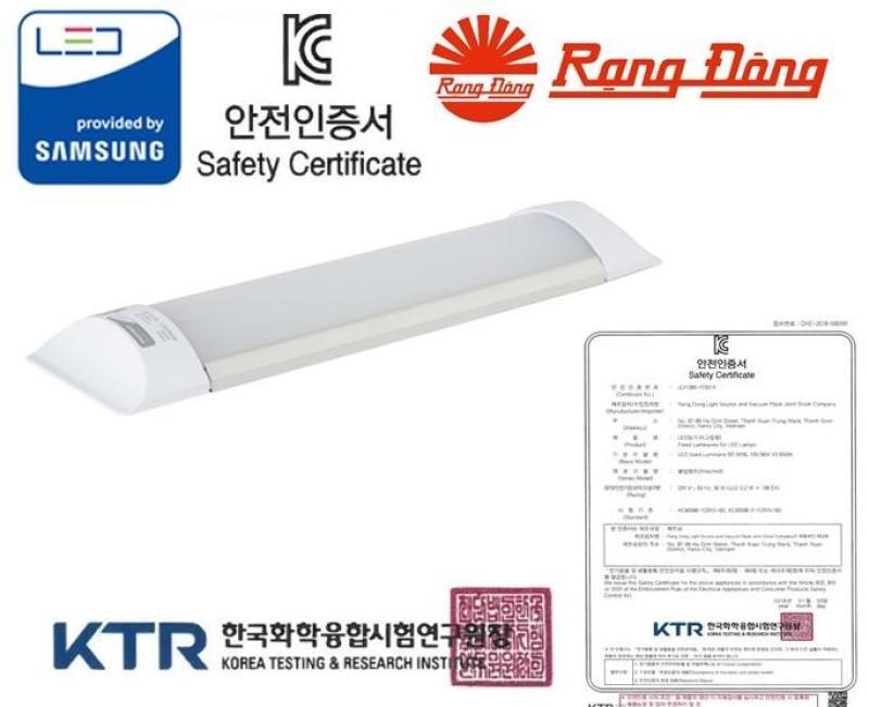 [Lấy mã giảm thêm 30%]Đèn LED bán nguyệt Rạng Đông 9W 30 cm Chứng nhận KC Korea ChipLED Samsung 2 năm bảo hành Mới
