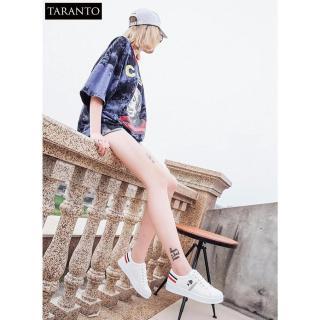 Giày thời trang nữ thể thao đế bằng TARANTO TRT-GDBNU-03-TR (màu trắng) thumbnail