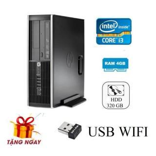 Cây máy tính để bàn HP 6200 Pro Sff (CPU i3 2100, Ram 4GB, HDD 500GB, DVD) + Tặng USB Wifi - Hàng Nhập Khẩu thumbnail